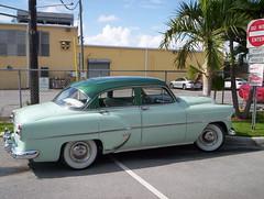 automobile, automotive exterior, pontiac chieftain, vehicle, compact car, antique car, sedan, classic car, land vehicle, luxury vehicle,