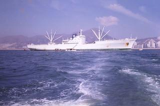 Labrador Clipper in Victoria Harbour HK - Dec 75