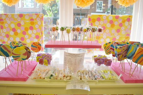 Lollipop Welcome at The Sugar Cube
