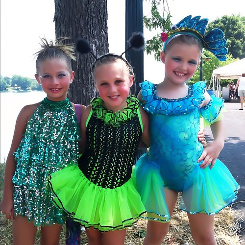 Miss Hannah in her solo costume for her disco medley, Miss Bailey in her Cooties costume and Miss Faith in her Under The Sea costume! #girls #costume #FireCrackerFestival #indiana #instagood