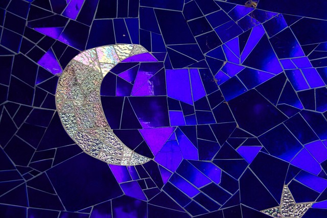 Moon at Queen Califia's Magical Circle Garden