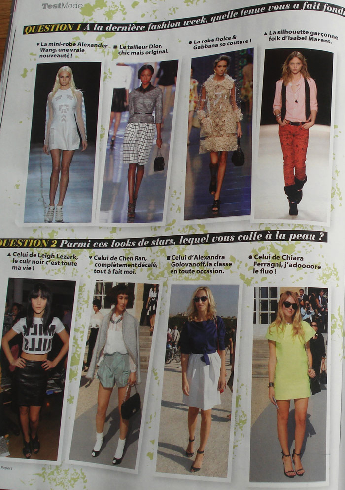 StylePapers-France, gennaio 2012