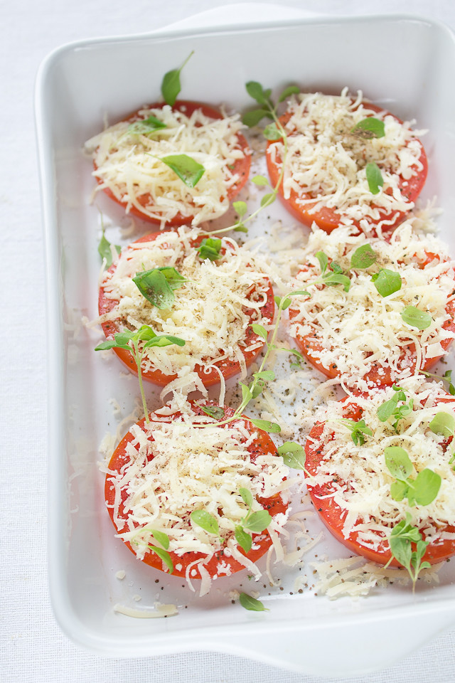 Parmesan Baked Tomatoes