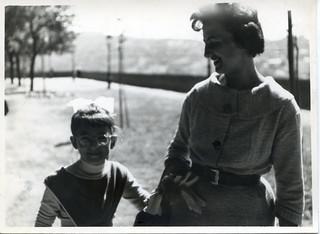 1959. Mum and me