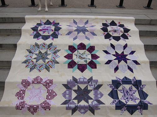 P & B Swoon Quilt Top