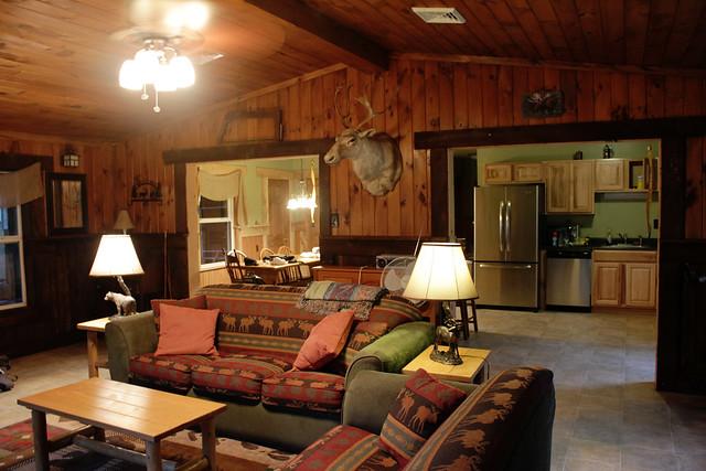 """A Beautiful Cabin"" - interior 2 | Flickr - Photo Sharing!"