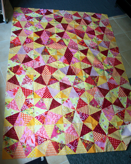 raspberry lemon quilt