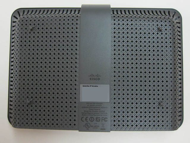 Cisco Linksys EA4500 - Back View
