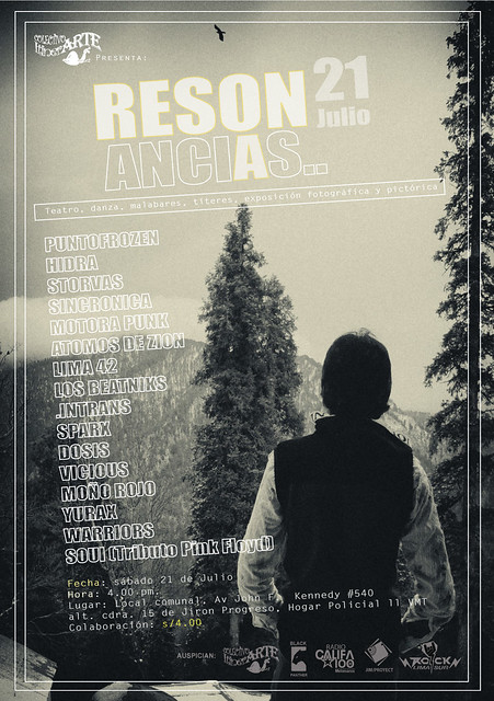 Resonancias flyer by Jim/Proyect