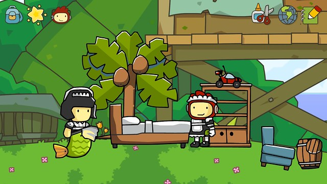 Scribblenauts Unlimited Comic-Con 2012 Screenshots