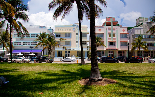ocean drive art deco hotels - miami beach | the penguin