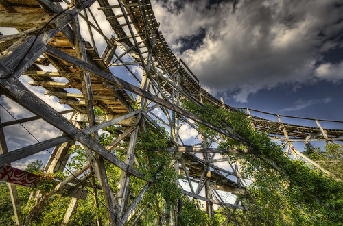 clouds ma wooden rust ruins decay massachusetts memories tracks newengland amusementpark twister comet crusty dartmouth hdr lincolnpark collapsed fallriver fallingapart urbex defunct rollercoster tonemapped 3000feet vernonkeenan trigphotography frankcgrace edwardleis nationalamusementdevicecompany