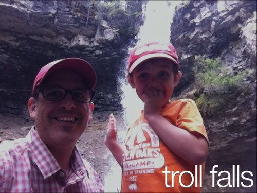 Kid Friendly Hikes Near Calgary: Troll Falls
