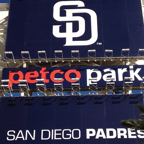 Padres vs. Astros. Boys first MLB game!!
