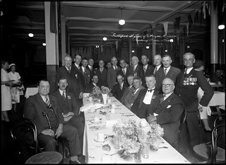 Gallipoli Legion of Anzac dinner at Sydney Town Hall