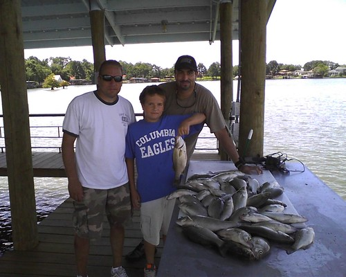 Lake livingston smack down 7 18 19 12 freshwater for Lake livingston fishing report