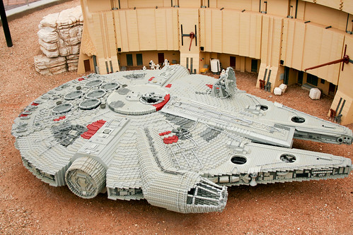 Really big Millenium Falcon
