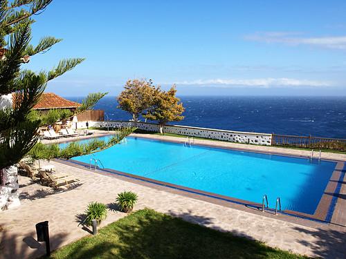 Swimming Pool at Parador, La Gomera