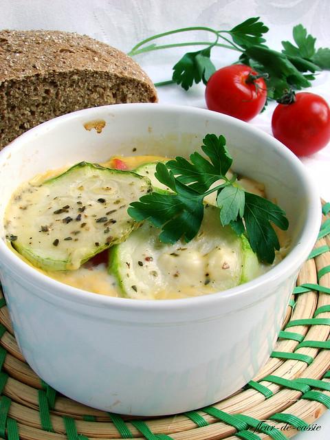 тимбал кабачок-томат 1