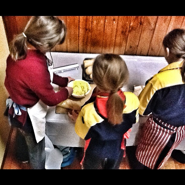 Garlic Bread Production Line. #cooking #cubs