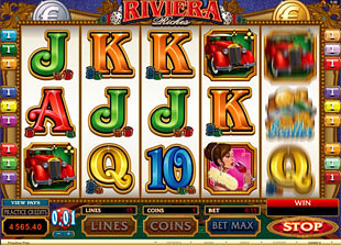 Riviera Riches Slot Machine