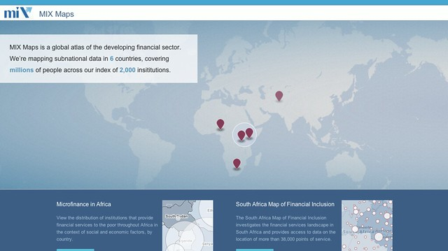 Mapping Portal for Subnational Microbanking — Development Seed