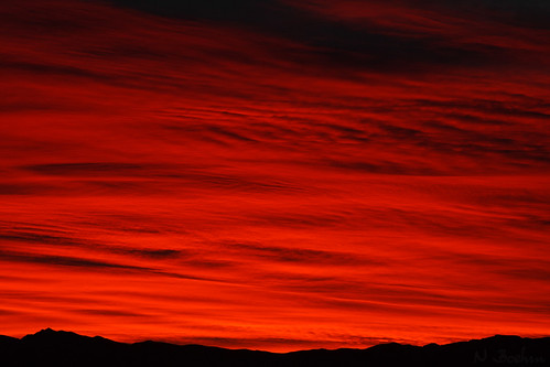 newzealand sky orange clouds sunrise canon otago dslr wanaka 400d canonef2485mmf3545usm