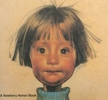 illustration of ramona quimby from a book cover