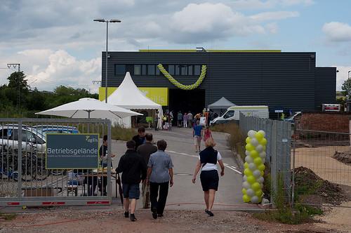Der Eingang zum Werkstattfest