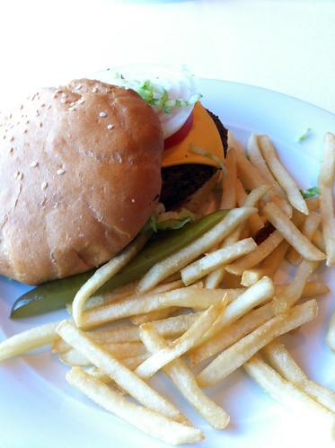 Norwegian Pearl - Veggie Burger