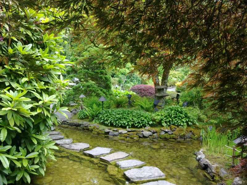 Japanese garden en jardines Butchart Canada 34