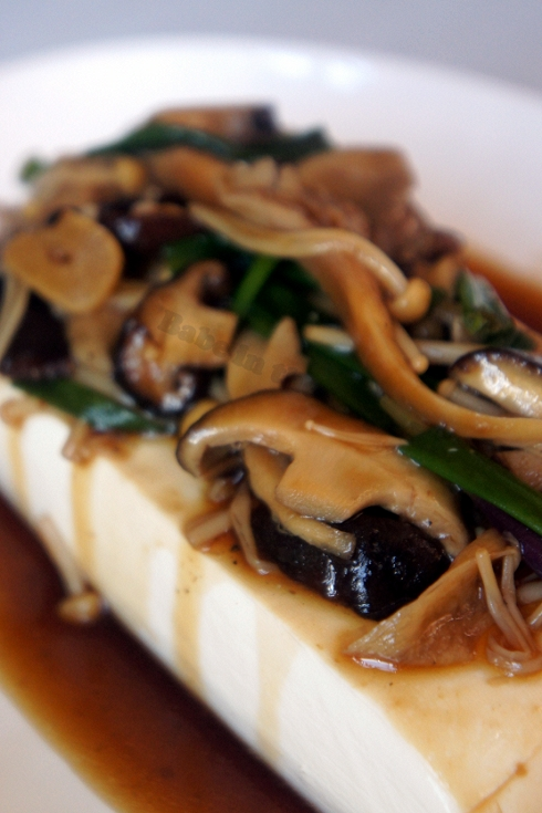 Tofu with Mushrooms 1