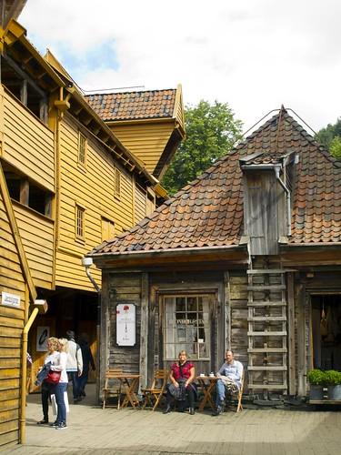 18 Calles interior Bryggen