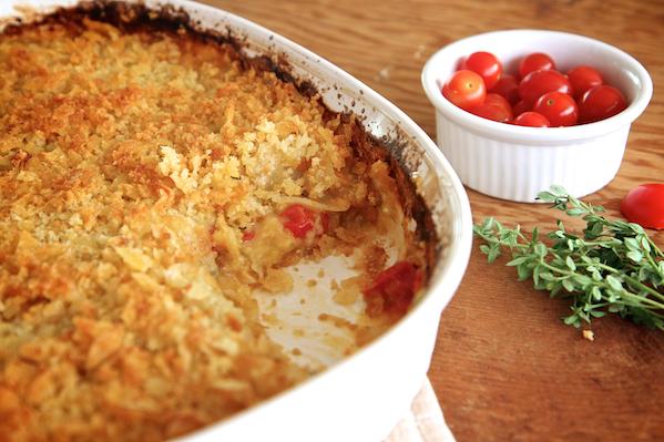 Tomato & Potato Gratin 129