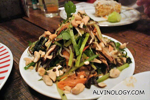 """Buddha's Delight"" - A textural vegetarian salad (AUD$14)"