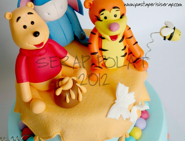 winnie The Pooh pastası