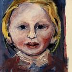 Alison Blundell portrait (15cm x 10cm)