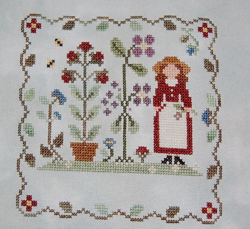 Garden Pleasures by LHN ~ in progress