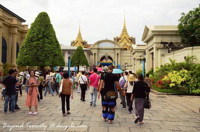 grounds of Grand Palace, Bangkok