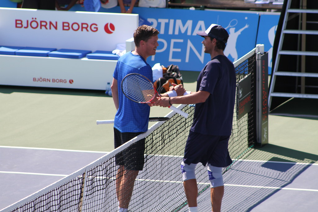 Thomas Enqvist and Mark Philippoussis