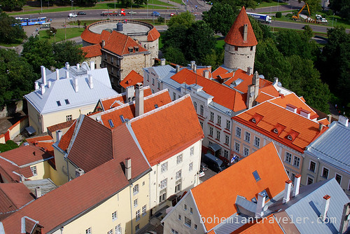 view from St Olaf tower