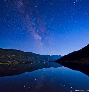 Lake San Cristobal Milky Way