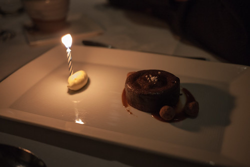A chocolate fondant surprise at Tetsuya's