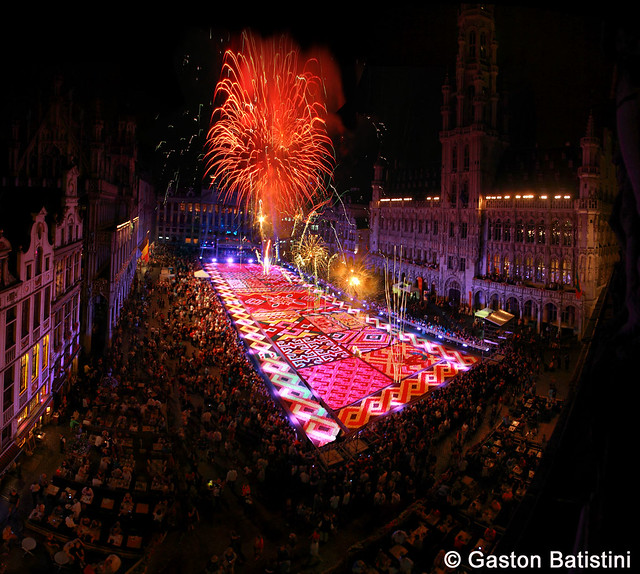 Carpet flowers 2012, Grand Place, Brussels, Belgium