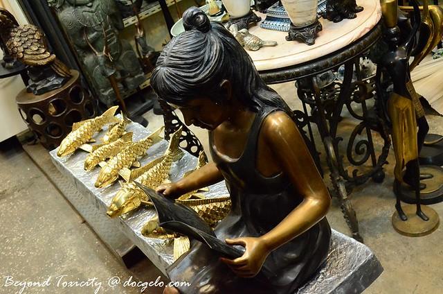 brass souvenirs chatuchak