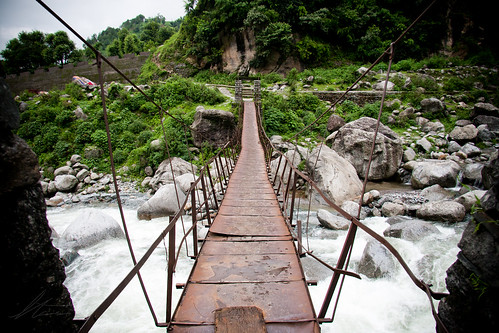 The Rickety Suspension Bridge