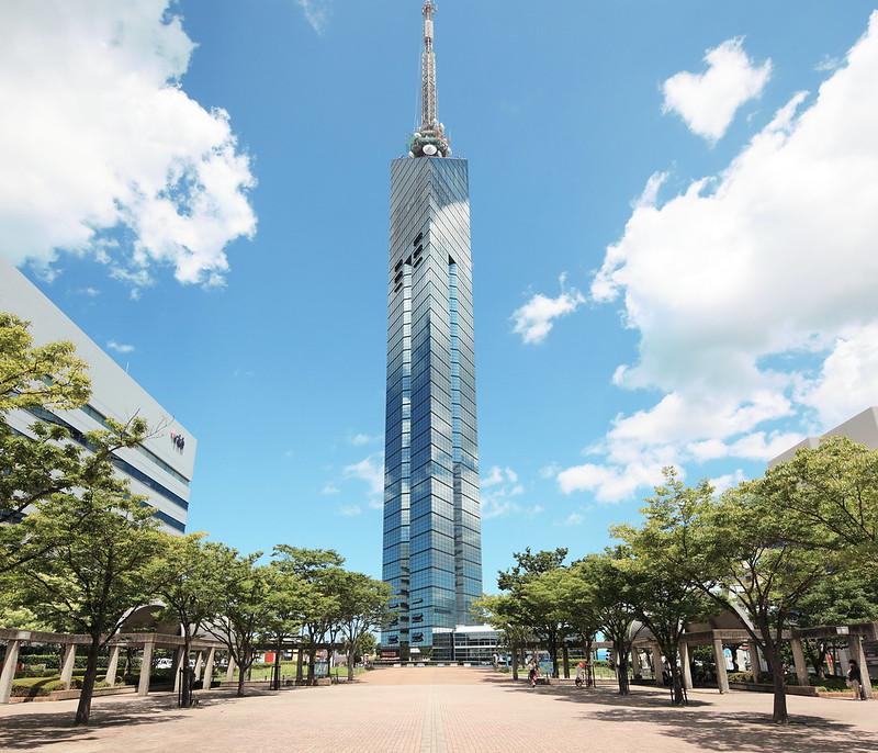 福岡タワー。