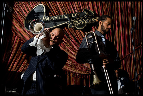 Irvin Mayfield Quintet plays during the