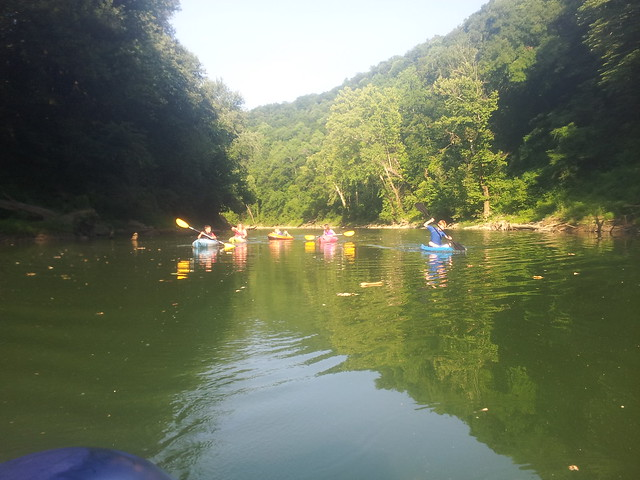 Kayaking with kids via The Risky Kids