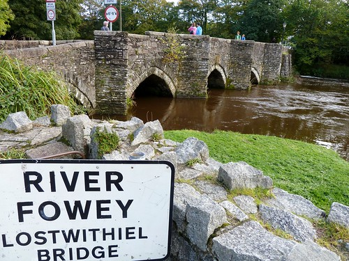 Medieval Bridge over River Fowey, Lostwithiel